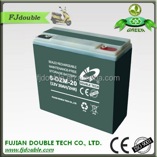 accumulator 12v20ah e-bike lead acid battery Electric Vehicle(E-Bike) Battery factory