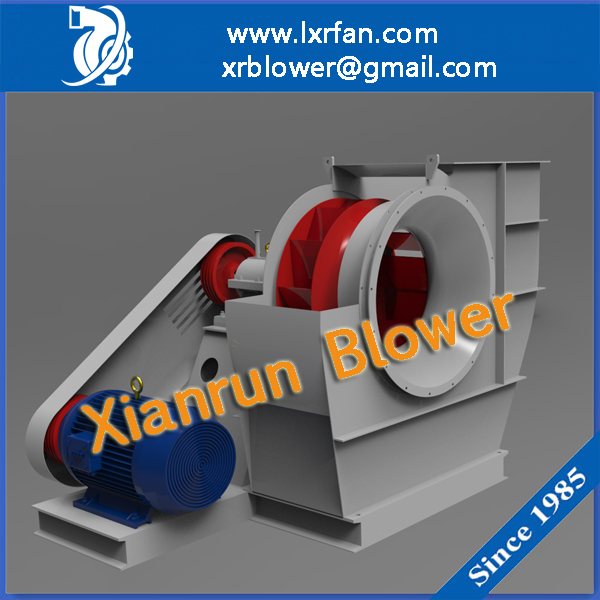 5000 CFM Cast Iron Backward Curved Blade Centrifugal Fan