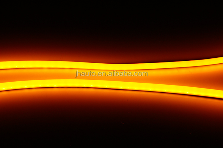 2014 Tube Light, 60cm White/Amber Flexible DRL