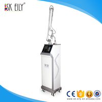 Stationary Glass Tube Fractional CO2 Laser machine for skin tag removal and hemangioma removal