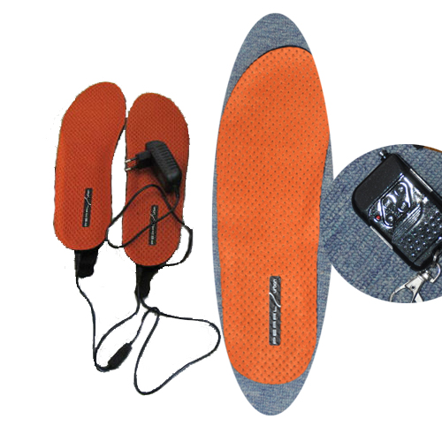 Battery Heated Foot Warmers,Heated Insoles Remote with Remote Control Keeping Your foot Warmer Easily in Winter