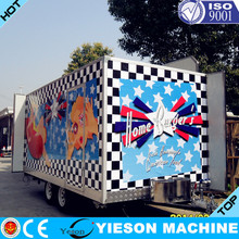 fast food kiosk barbecue New Type Mobile Fast Food Car/food cart/food selling car