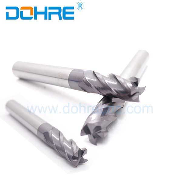 Milling Cutter Carbide Machine Tool Accessories For Stainless Steel Finishing