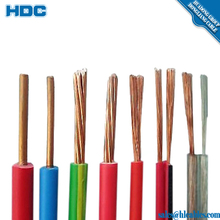 Low Voltage thin conductor electric wire of pvc insulated