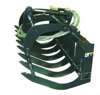 skid loader attachments grapple fork