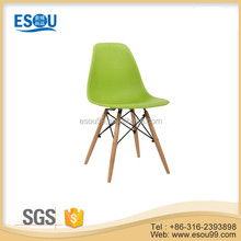 modern design cheap colored waiting room plastic dining chair