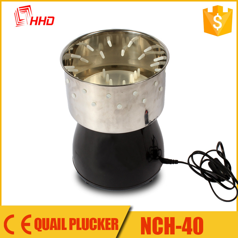 HHD factory wholesale price cheap quails plucker machines for sale NHC-40