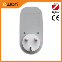 220v ZigBee energy meter wireless smart power meter plug