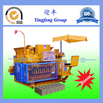 Best selling ! Yingfeng QMY6-25 Mobile Block making Machine