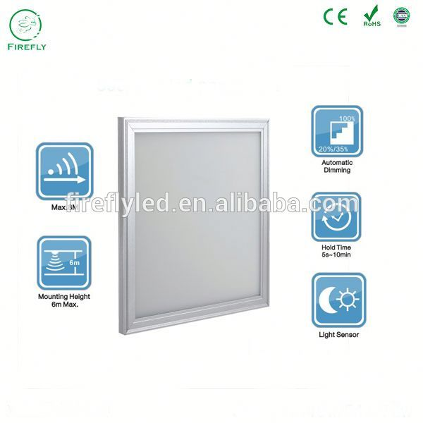 UL certificate Square motion sensor 10x10 cm led panel UL office lighting