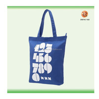 2014 NEW design recycled print cotton bags/cotton tote bags/cotton shopping bags
