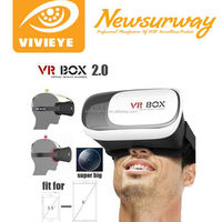 3d virtual reality camera watch adult sexy movie, supports 500 degrees of myopia 1.0 vr glass