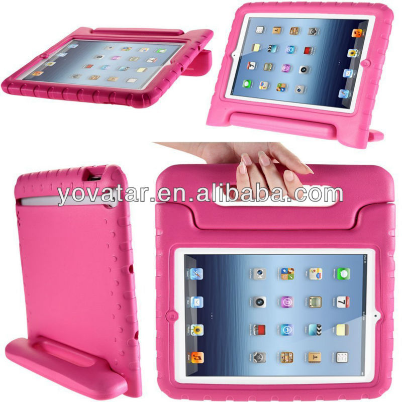 Factory Price!!! Very attractive High Quality custom design shockproof handheld stand EVA Foam oem case for ipad 2 3 4 5