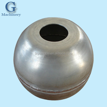 sheet metal fabrication hollow aluminum sphere
