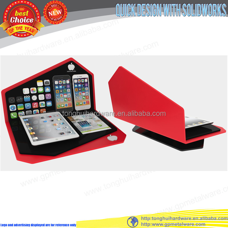 Counter top acrylic ipad display stand