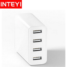 NEW Original Xiaomi Quad USB Charger 4 USB Port Micro Adapter 2A Quick Charge Portable Xiaomi Travel USB Charger