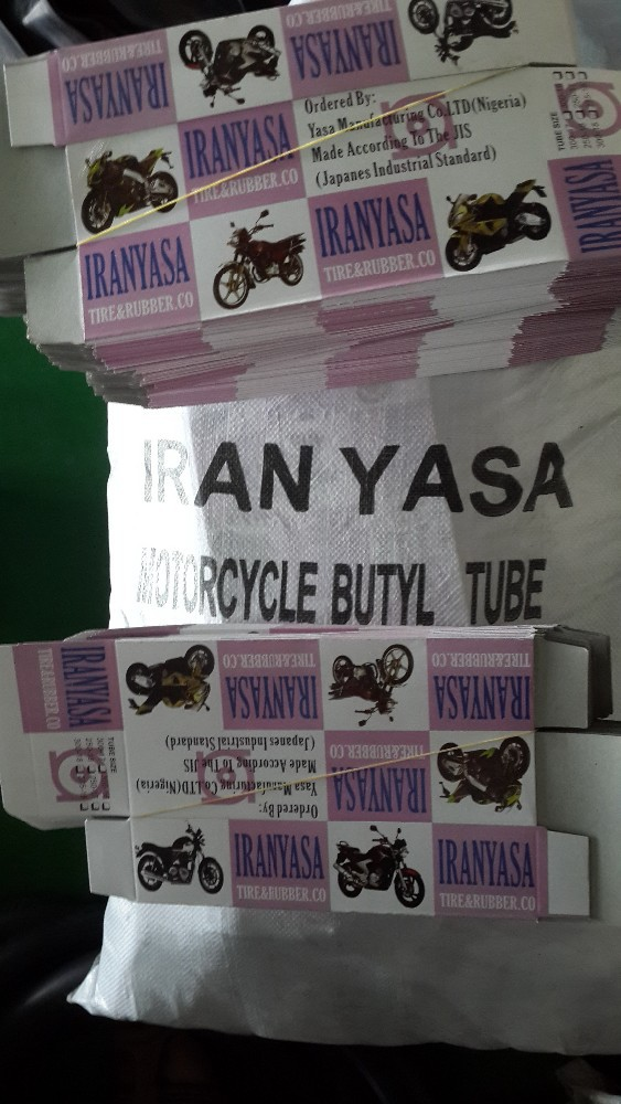 natural rubber & butyl rubber motorcycle tubes 300/17 275/18 90/90/18 300/18 TR4