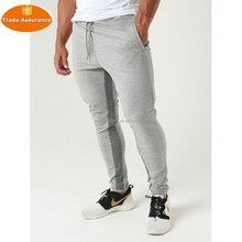 Pro-fit tapered bottoms with zip pockets fitness pants