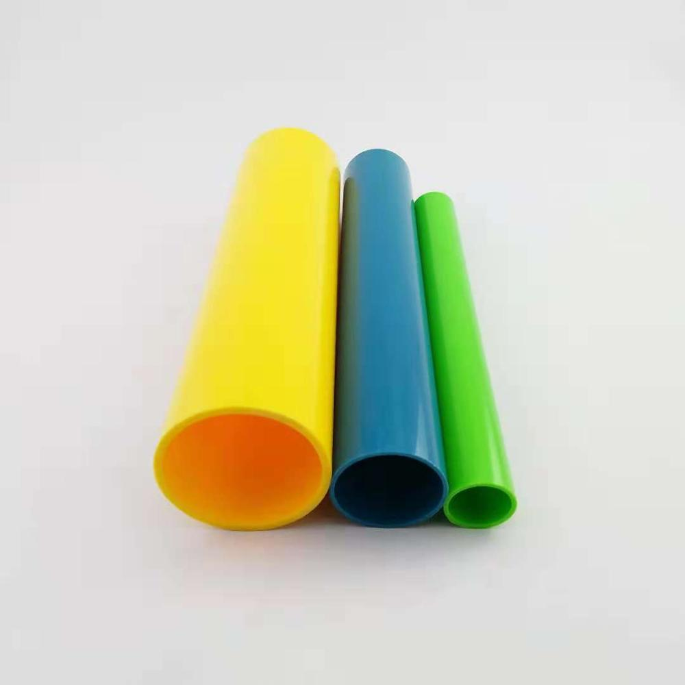 Manufacturers supply a variety of color PVC / ABS / PC / PP plastic <strong>tube</strong>