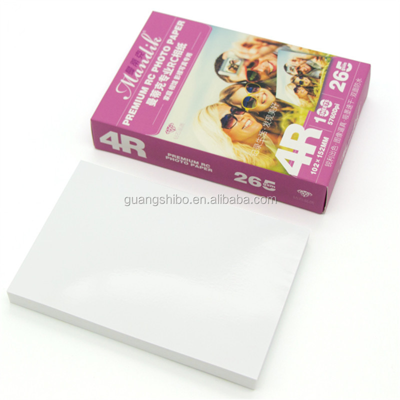 260g RC Glossy Photo Paper 4R