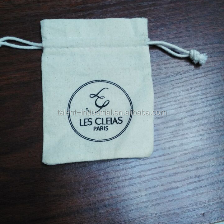 Royal linen lavender bag,small linen pouch with custom logo printing for jewelry