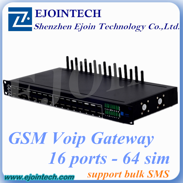 Anti Sim Blocking!! Ejointech 8/16/32 gsm gateway voip analog telephone adapter find trap number through data mining