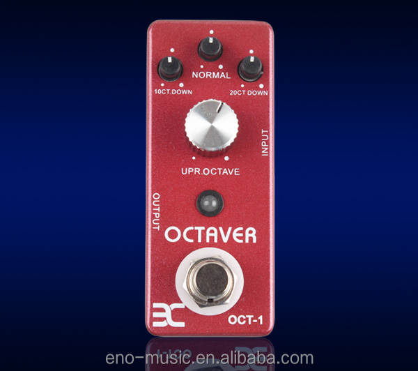 octaver effect pedal for guitar