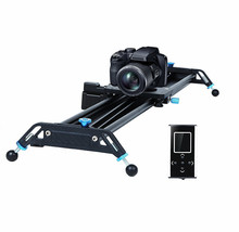 Motorized camera slider 120cm video slider track timelapse time delay and tracking shooting function for film and phoptography