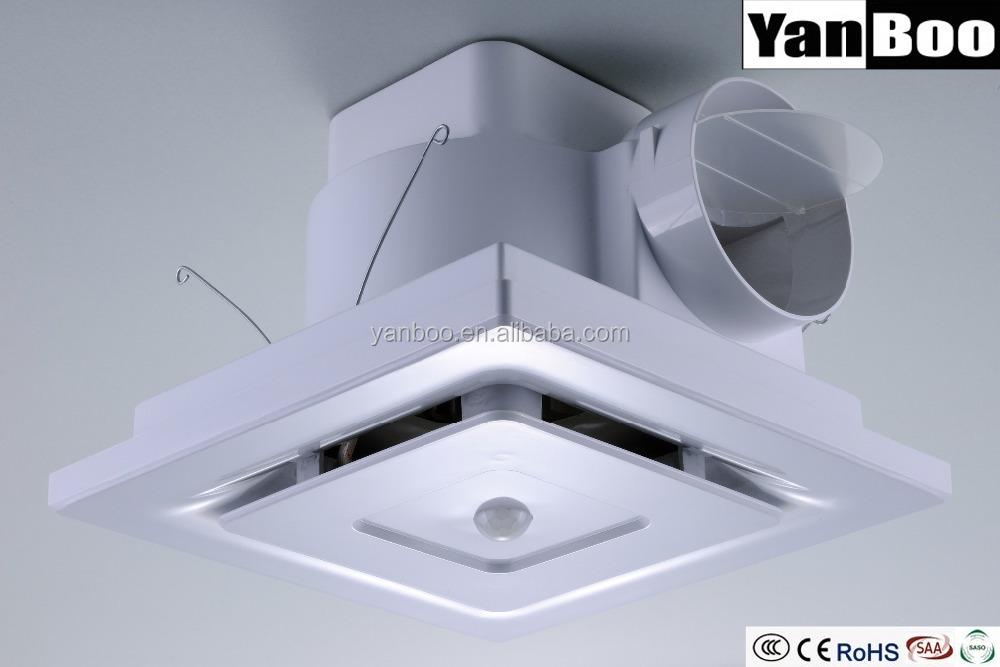 Ceiling Mounted Exhaust Fan Ceiling Fan In Bathroom With Sensor Buy Ceiling Mounted Bathroom