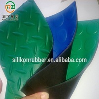 Best quality anti-vibration flexible cork rubber sheet