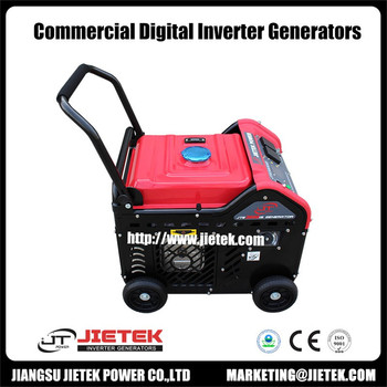 15hp single phase air cooled Gasoline /LPG energy inverter generator with EPA