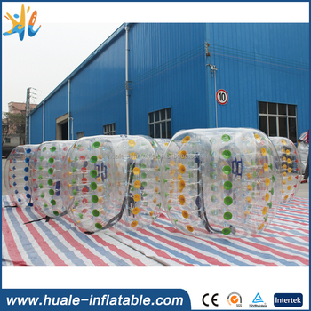 Inflatable ball suit buddy bumper ball for adult, inflatable human soccer bubble ball for football