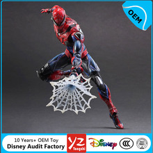 Hot Sales Plastic SpiderMan Marvel Action Figures OEM factory