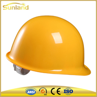 CE approved safety helmet with chin strap EN397 hard hat