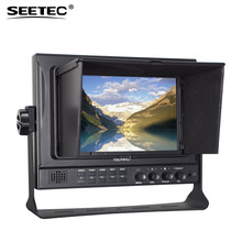 FEELWORLD 7 inch IPS camera monitor professional broadcast display 3g sdi monitor with peaking fliter function