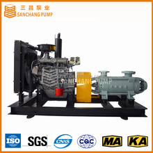 Multistage centrifugal heavy duty diesel irrigation water pumps