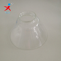 Clear Hat Shaped Glass Lampshades
