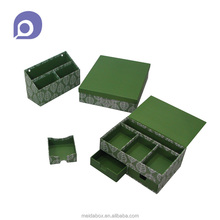 Handmade coated paper student school office stationery item box
