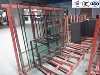 10mm+12A+6mm, ISO, CE, CCC, Insulated, Tinted, low e, solar, color double glazing glass panel price/ Beijing XSH Glass