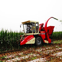 4YZ-3H Multifunction Maize Harvester with Forage for Animal