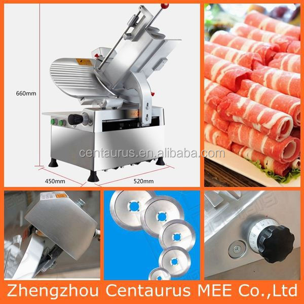 Lowest price automatic mutton steak slicing machine with fast delivery