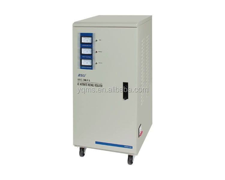 High precision single phase 30KVA servo motor voltage stabilizer/regulator