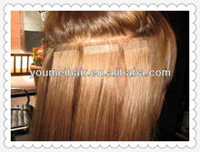factory price and top quality clear band tape hair extensions