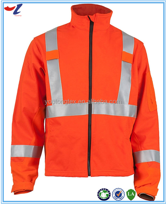 High visibility reflective 100% polyester waterproof and windproof winter coat fabric