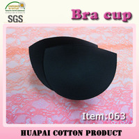 Free sample provide sexy half black foam bra cup wholesale for lingerie