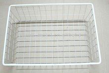 Mesh golf ball wire basket