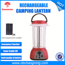 lead-acid battery Rechargeable portable Emergency 40 LED lantern with radio function