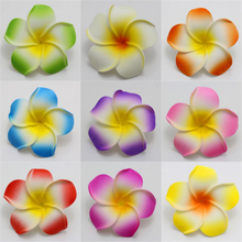 Hawaiian Beach eva Foam Flower hawaiian frangipani plumeria flower hawaiian ear flower