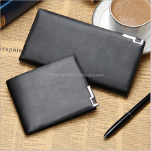 Hot selling Baellerry Simple style ultra-thin leather Men's wallet Purse/Young fashion Teens wallets