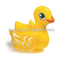 150cm inflatable cute duck rider toy for children